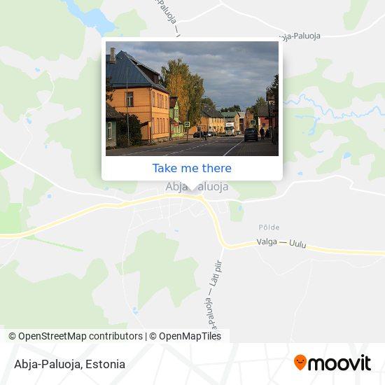 Abja-Paluoja map
