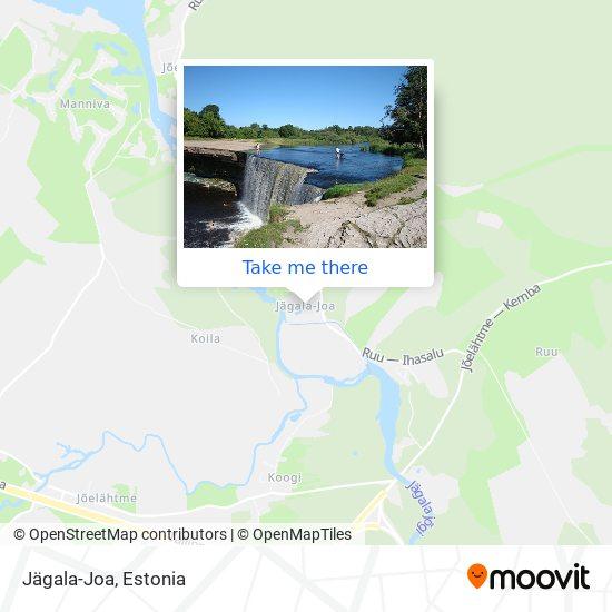 Jägala-Joa map