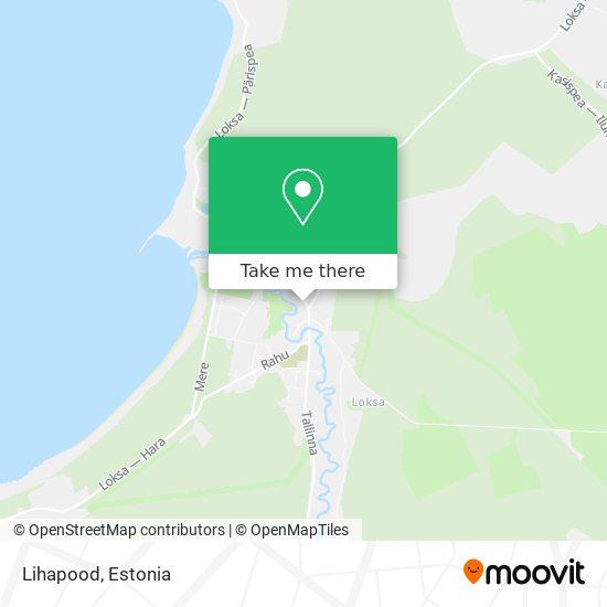 Lihapood map