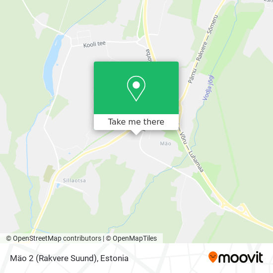 Mäo 2 (Rakvere Suund) map