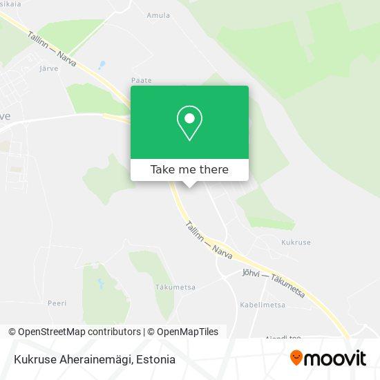 Kukruse Tuhamägi map