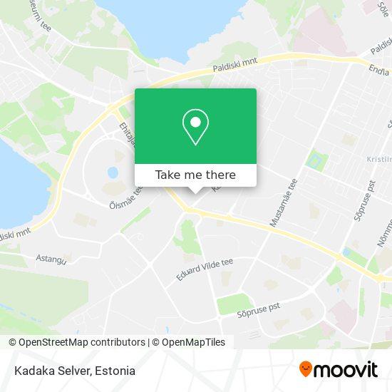 Kadaka Selver map