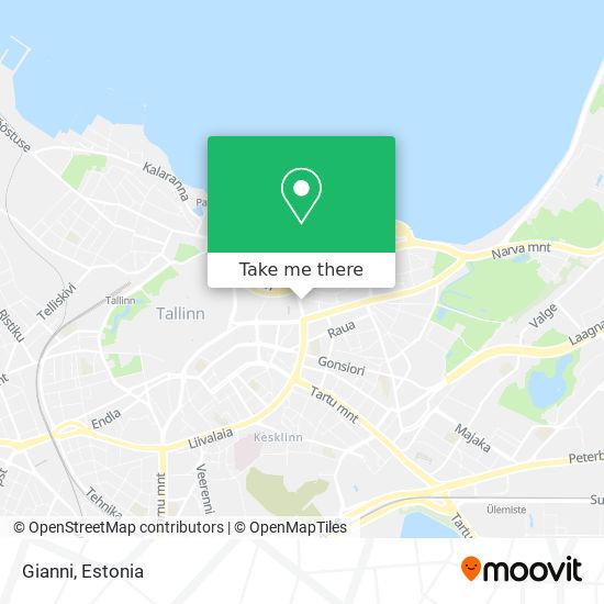 Giovanni Restoran map