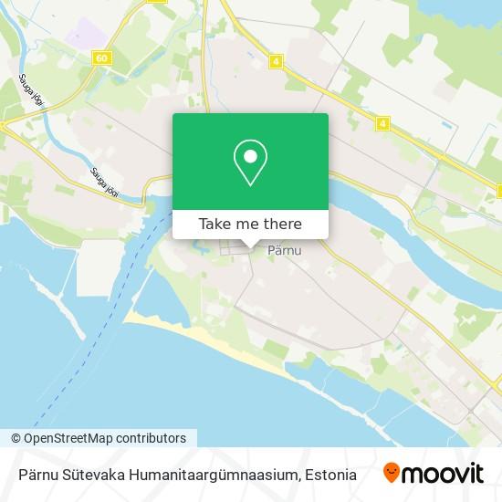 Pärnu Sütevaka Humanitaargümnaasium map