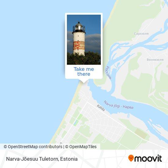 Narva-Jõesuu Tuletorn map