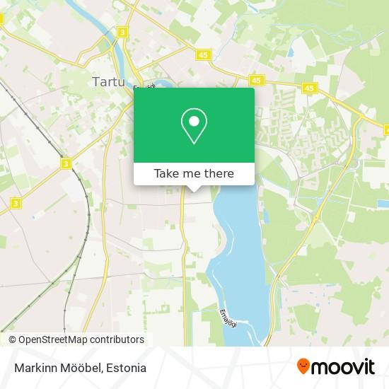 Markinn Mööbel map