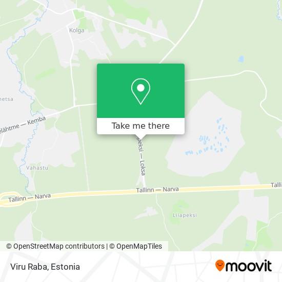 Viru Raba map