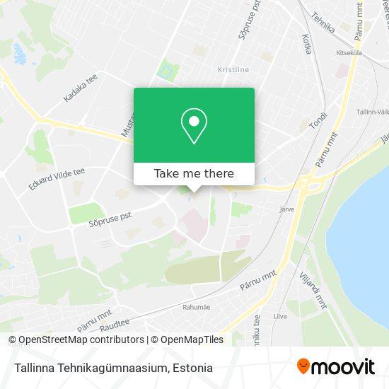 Tallinna Tehnikagümnaasium map
