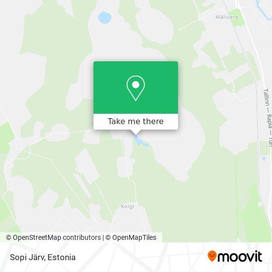 Sopi Järv map
