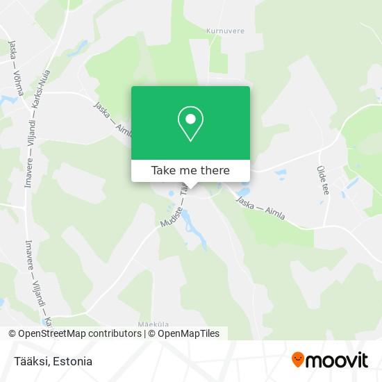 Tääksi map