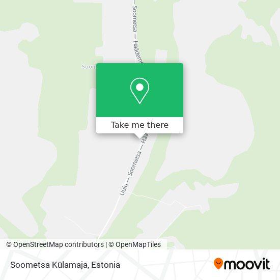Soometsa Külamaja map