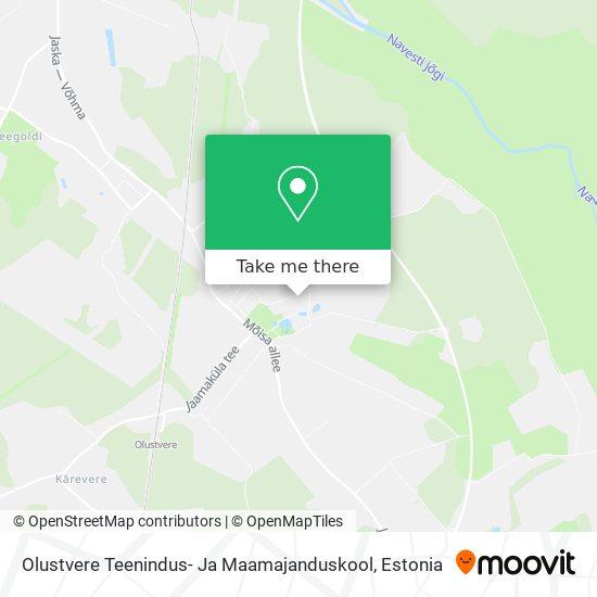 Olustvere Teenindus- Ja Maamajanduskool map
