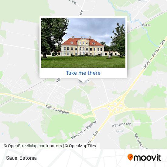 Saue map