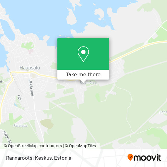 Rannarootsi Keskus map