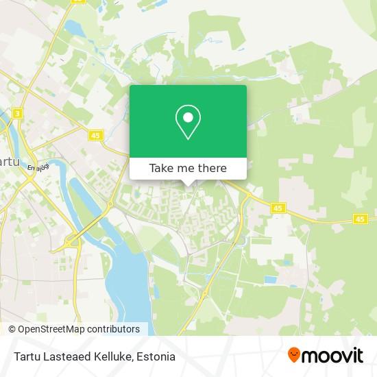 Tartu Lasteaed Kelluke map