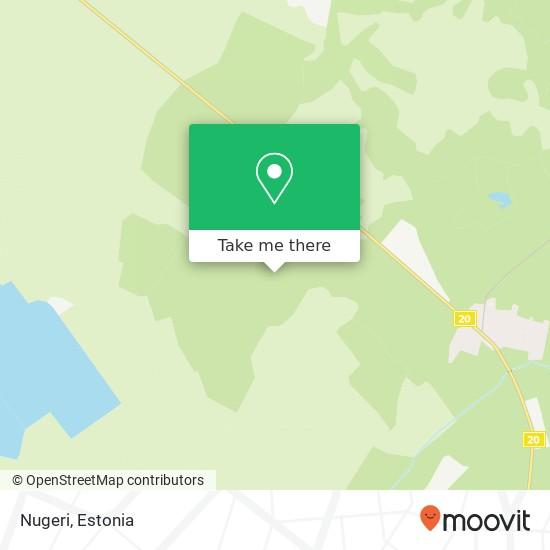 Nugeri map