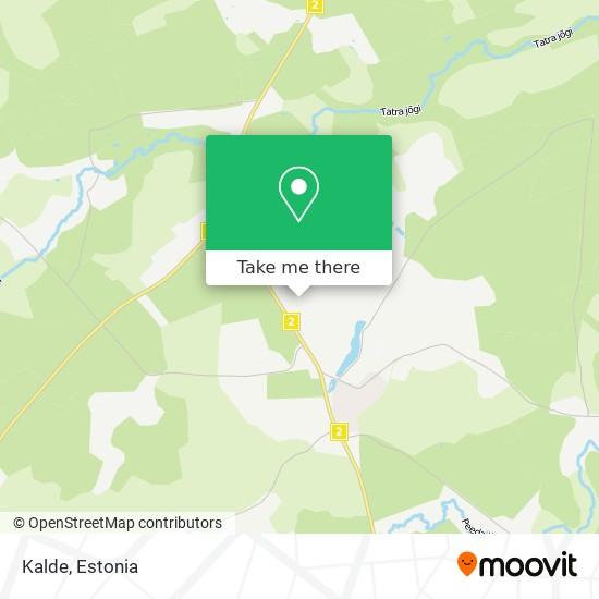Kalde map