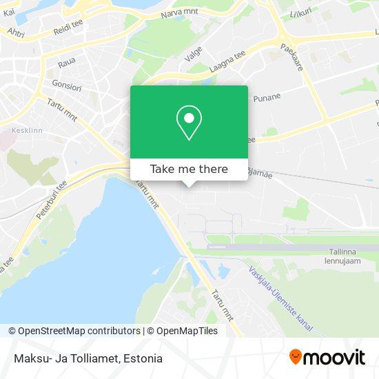 Maksu- Ja Tolliamet map