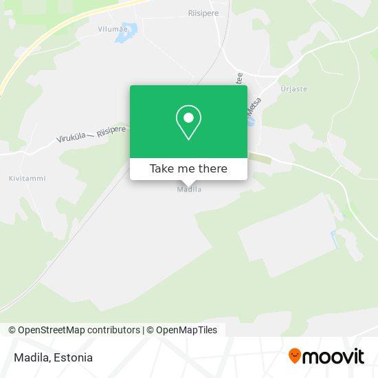 Madila map