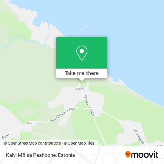 Kalvi Mõis map