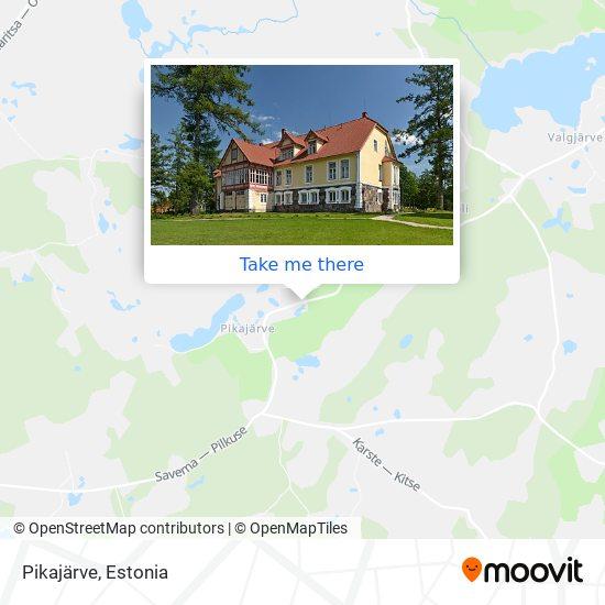 Pikajärve map