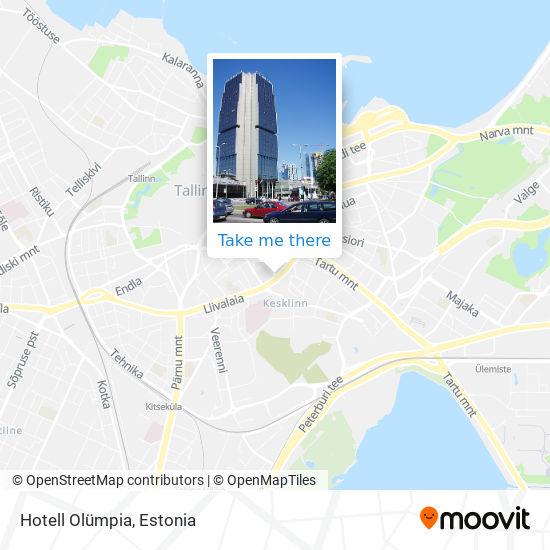 "Hotell ""Olümpia"" map"