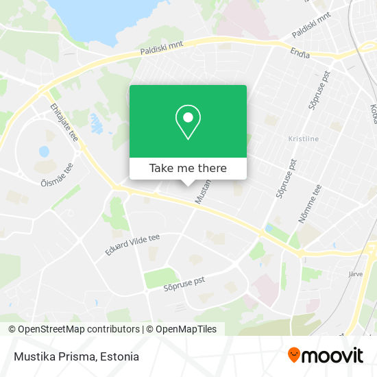 Mustika Prisma map