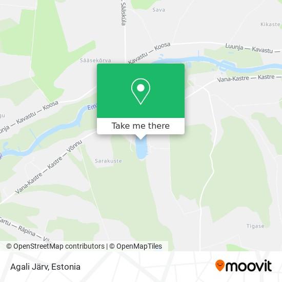 Agali Järv map