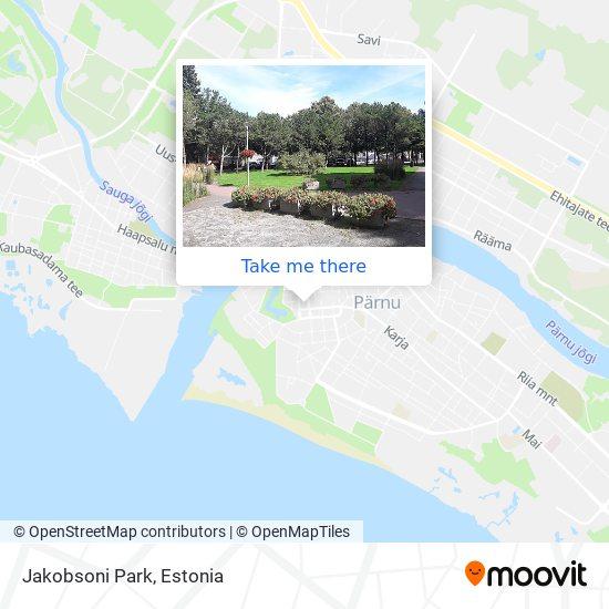 Jakobsoni Park map