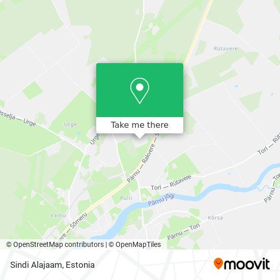 Sindi Alajaam map