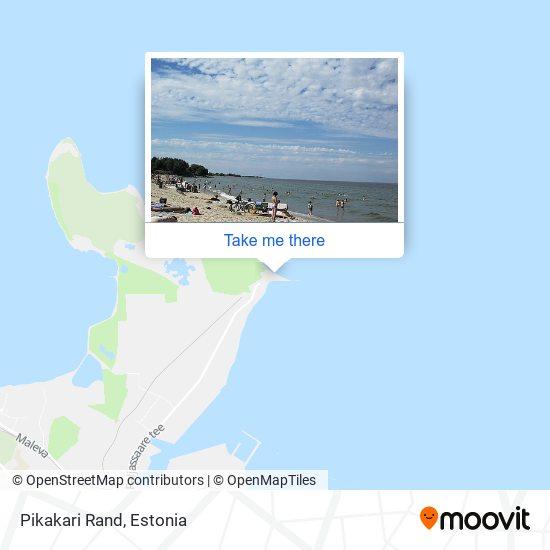 Карта Pikakari Rand