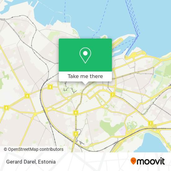 Gerard Darel map