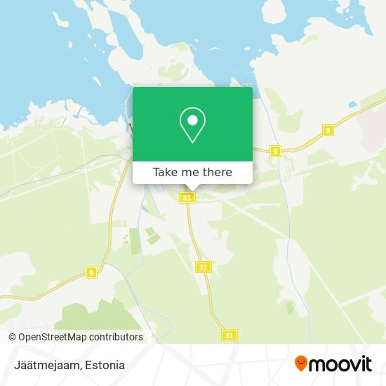 Jäätmejaam map