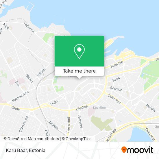 Karu map