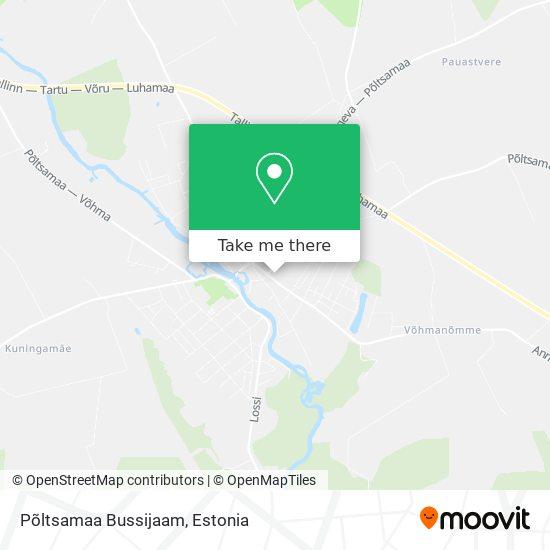Põltsamaa Bussijaam map