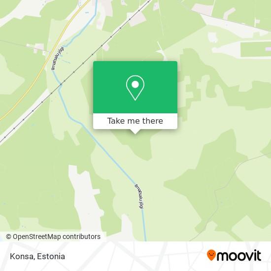 Konsa map
