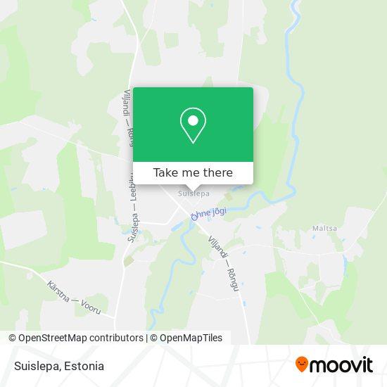 Suislepa map
