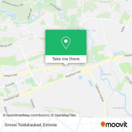 Grossi Toidukaubad map