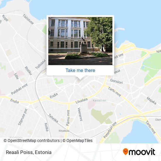 Reaali Poiss map