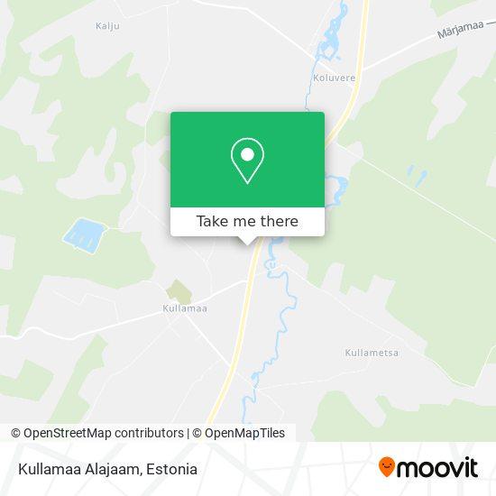 Kullamaa Alajaam map