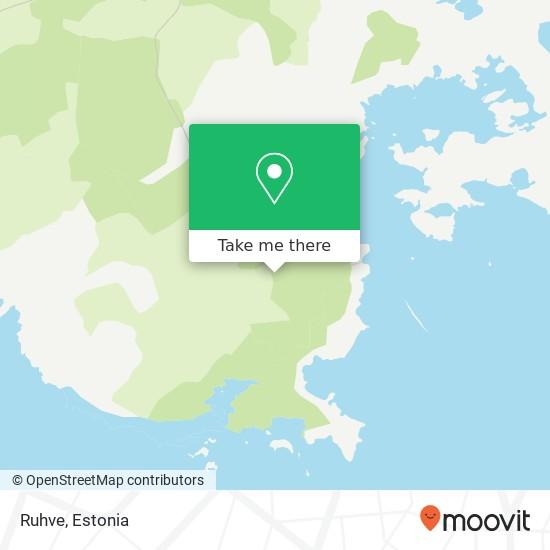 Ruhve map