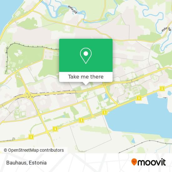 Bauhaus map