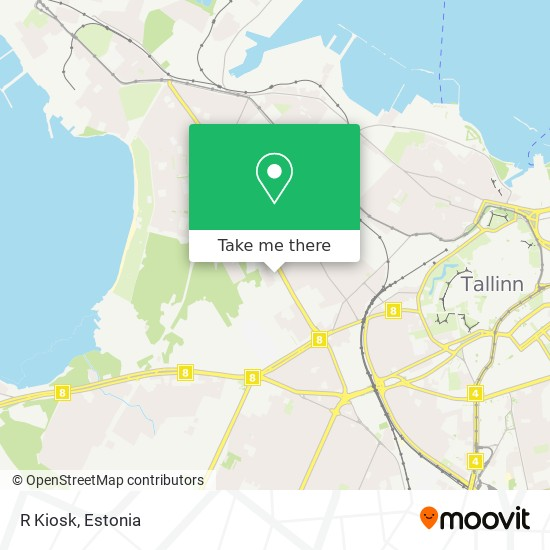 R Kiosk map