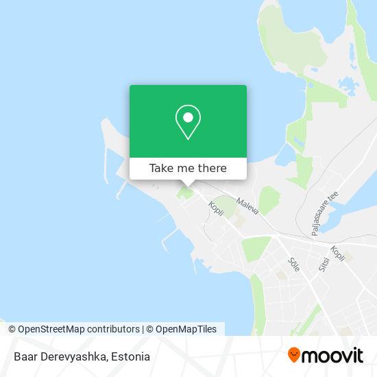 Baar Derevyashka map