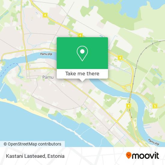 Kastani Lasteaed map