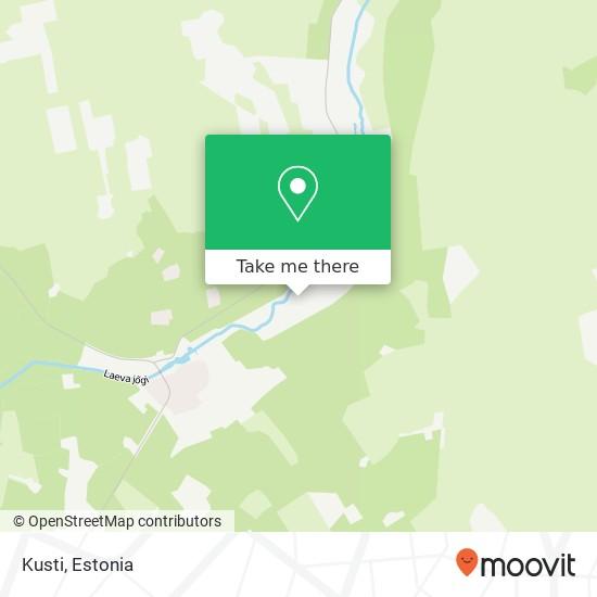 Kusti map