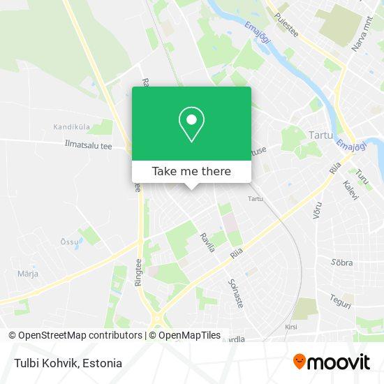 Tulbi Kohvik map