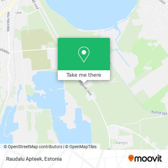 Raudalu Apteek map