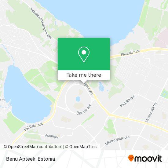 Benu Apteek map