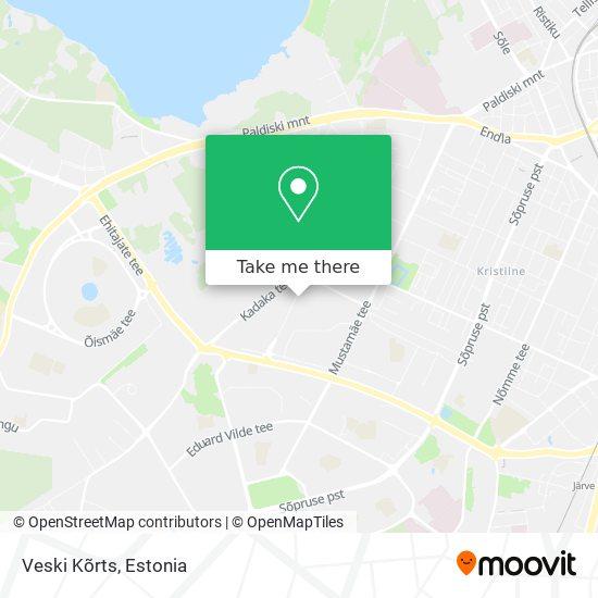 Veski Kõrts map